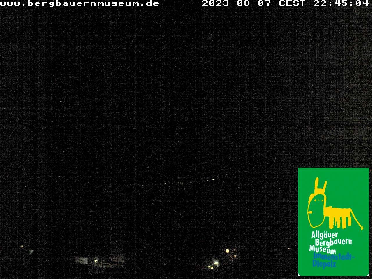 Webcam Bergbauernmuseum - Höfle Alpe